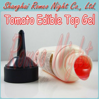 Wholesale 50 OFF Tomato Edible Top Gel Water Based Lubricants Lube For Oral sex Vaginal sex and Anal sex