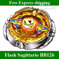 Wholesale New listing BeyBlade D Flash Sagittario BB Metal Fusion Fight Masters kids toys