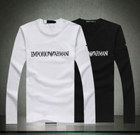 Wholesale 2013New Autumn Winter New Men s Hot Selling High Quality Fashion Big Brand Long Sleeve T Shirts Casual T Shirts M XL