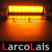 Strobe Light amber led strobe lights - Amber LED Strobe Flash Warning EMS Car Truck Light Flashing Firemen Fog Lights LED