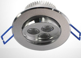 Wholesale Dimmable 3x3W Cool White Warm White LED Downlight Lights Ceiling Lamp AC85~265V