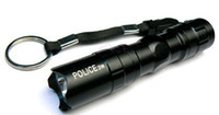 Wholesale mini portable flashlight W bright white LED penlight against pressure Without battery