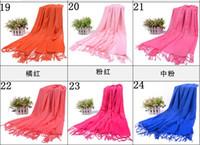 Wholesale 2013 korean style lady Shawls Pashmina Scarves Wraps warm shawls Cashmere like big size Wraps cm
