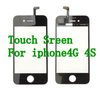 Wholesale Touch Screen Glass Lens Digitizer Replacement for iPhone G S Best Quality Free DHL fast shipping