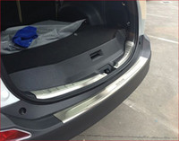 102681 Toyota RAV4 RAV 4 2013 Stainless Steel Rear Bumper Protector Auto Accessories 2pcs for 2013 2014 Toyota RAV4 RAV 4 Car Trim