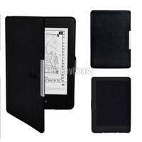 Wholesale Ultra Slim Magnetic PU Leather Smart Case Cover for Amazon Kindle Paperwhite