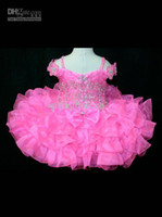 Toddler pageant dresses Off The Shoulder Girl's Pageant Dres...