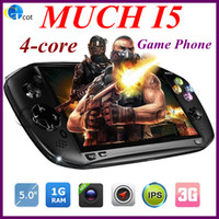 5.0 Android 1G MUCH i5 Game Phone MTK6589 quad core android phone i5 Inch IPS 1GB RAM 4G ROM Android 4.2 os 3G GPS Game Cellphone
