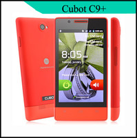 4.0 Android4.2 256M China Made Cubot C9+ 4.0 Inch MTK6572 MTK6572M Dual Core 1.2Ghz Smart Cell Phone smartphone Android 4.2 WiFi 512MB ROM Bluetooth XW10244
