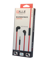 Wholesale Original Langston JM12 earphone with Mic for Smart Phone IPHONE HTC SAMSUNG MP3 MP4 Player excellent sound quality