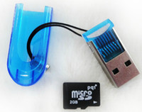 TF memory card price - OY Best Price TF Card reader USB Micro SD T Flash Memory Card Reader Colorfrul Without Retail BOX