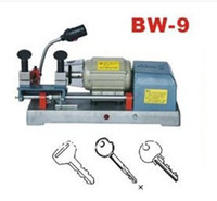 Wholesale DHL free Car Or House Key Cutting And Copy Machine Locksmith Used Duplicator Equipment For Sale BW H225