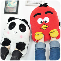 Wholesale Hearts winter plush all inclusive warm feet treasure electric heating shoes usb charge explosion proof heating shoes