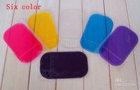 Wholesale Powerful Silica Gel Magic Sticky Pad Anti Slip Non Slip Mat for Phone PDA mp3 mp4 Car Accessories Multicolor