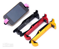 Wholesale Humanize PU fitted Car Steering wheel phone Universal Mount Holder Handset shelf stand