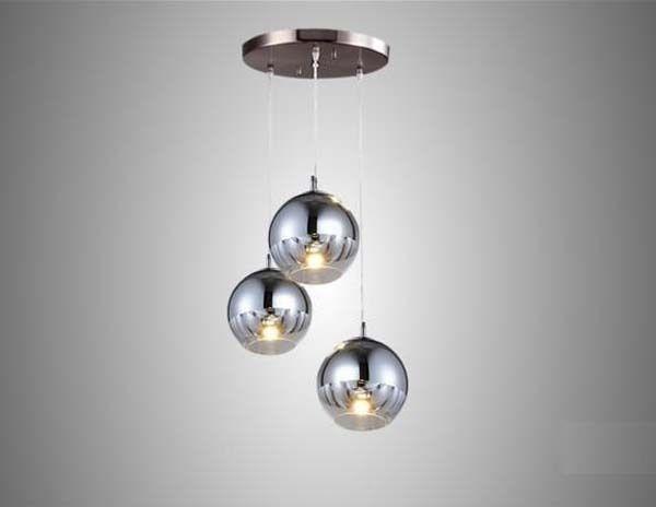 New Modern Chrome Glass Mirror Ball Ceiling Lighting Pendant L& Light LED LIGHTS Crystal Chandelier Celling Lights Online with $297.62/Piece on Yogurtu0027s ... & New Modern Chrome Glass Mirror Ball Ceiling Lighting Pendant Lamp ... azcodes.com