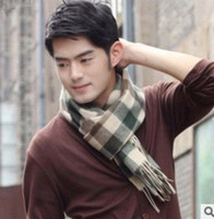 Wholesale factory price fashion mens scarfs wraps color styles can be mix ordered
