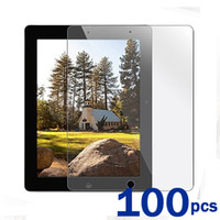 Wholesale 100pcs High Quality Clear Lcd Screen Protector Film for Apple ipad