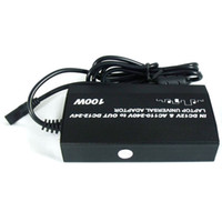 Wholesale 100W Universal AC DC To DC Adapter Car Charger Power Supply USB for Laptop New