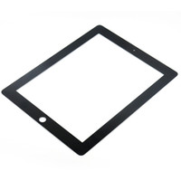Wholesale Touch Screen Glass Lens Cover For Apple iPad Front Screen Glass Replacement with No Flex Cable