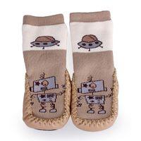 Los zapatos al por mayor del algodón de Skidproof de los niños al por mayor de la alta calidad calzan a los muchachos de las muchachas del muchacho los primeros zapatos del caminante para la nave libre DIU9 * 1 del bebé