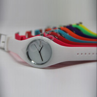 Wholesale HK Post Newest Watch High quality ice cream candy Fresh color Womens Watch color available