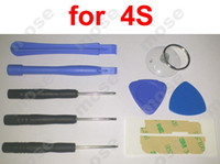 Wholesale 9 in Repair Pry Opening Tools Kit Tool FOR Cell phone APPLE IPHONE iPhone s sets