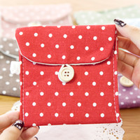 other other other 20pcs Hearts . fresh polka dot fluid sanitary napkin bag