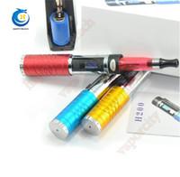 achat en gros de zmax cigarette-H200 E kit de démarrage de cigarette VV mod e cig 3v-6v e cigs 2200mAh vente en gros similaire au k101 k100 k200 tube de lave Vmax vamo zmax DHL gratuitement