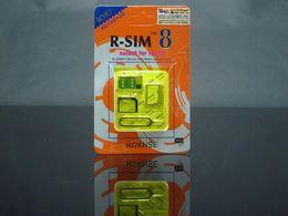 Wholesale Original The Worlds Advanced Smart R SIM gold RSIM RSIM8 Support G G