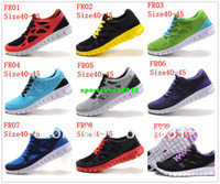 Men PU PU Free Shipping Wholesale Free 2 Running Shoes Men's Barefoot Run 2 Sport Shoes 27 Color Size 40-46