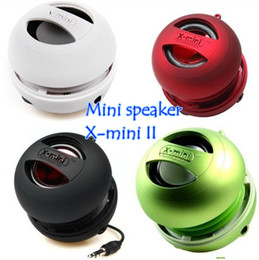 X-Mini II 2 018 Capsule Speaker Mini USB Charger Subwoofer for iPhone 4 4S 5 S3 iPad I9300 With retail package free shipping from iphone capsule manufacturers