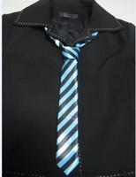 Wholesale 2PCS Super Skinny Narrow Thin men Neck Tie quot NEW