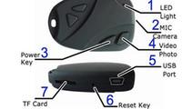 Wholesale Hot selling Mini video hidden car key camera car key chain camera DV