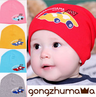Winter baby bicycle - new Super christmas hat sweet baby caps girl hat Weaving Cartoon racing bicycle cap for child to keep warm