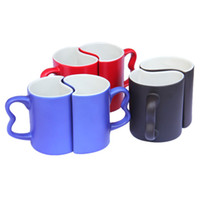 Wholesale good quality sublimation coating love mugs factory directly sale heat transfer gift craft mugs
