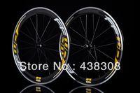 Carbon carbon bicycle wheel set - FFWD F6R Wheels carbon clincher mm FFWD Alloy carbon Road bicycle wheelset c aluminum braking bike wheel set HOT Selling