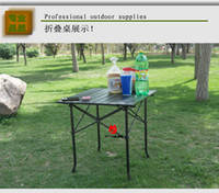 other other other Portable aluminum alloy outdoor folding table camping folding tables and chairs picnic table bbq table computer desk monnet
