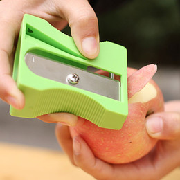 Wholesale Pencil Sharpener Peeler Fruit Paring Knife Chipper Tools Kitchen Gadgets