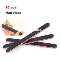 Wholesale 10pcs Good Quality Professional Nails Art File Buffing Sandpaper Nails Care Manicure Tool