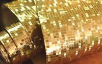 Wholesale Best Luxury Gold roll pvc Foil glitter live wallpapers Flicker glitter wallpaper Vinyl wallpaper roll pvc waterproof DHL