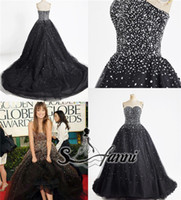 Ball Gown Modern Sequins 2014 Real Picture ! Strapless Ball Gown Organza Beads Sequin Zipper Crystal Party Dress Evening Prom Dress (get a mask for free)