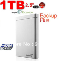 750GB - 2TB 2.5'' 7200 Seagate Backup Plus USB 3.0 PC & Mac External Hard Drive 1TB STBU1000302 silver free shipping