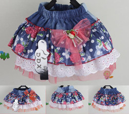 Wholesale 30P Stock Special Offer Cotton Pink Pettiskirt Girl Pettiskirts Baby Tutu Skirts Size T T For T