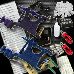 Wholesale complete beginner body tattoo kits tattoo rotary machines guns for tattoo supply