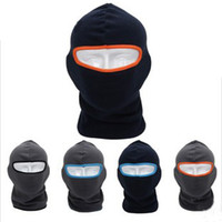 Wholesale Winter outdoor CS headgear fleece warm face mask cycling bicycle cap one size in colors