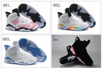Wholesale 17 Colours Retro VI Women s Basketball Sport Footwear Sneakers Trainers Shoes Colours