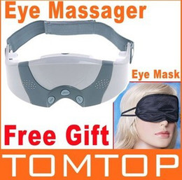 Wholesale Mask Migraine DC Electric Care Forehead Eye Massager with Free Gift Eye Mask