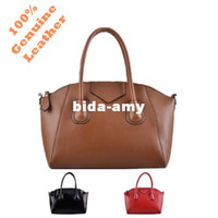 Wholesale 2013 Fashion High Quality Real Genuine Leather Name Famous Brand Designer Style Satchel Handbag Tote Bag for Women