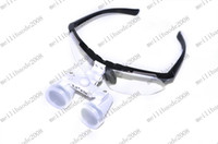 dental medical loupes - Black Dentist Dental Surgical Medical Binocular Loupes X mm Optical Glass Loupe MYY6885